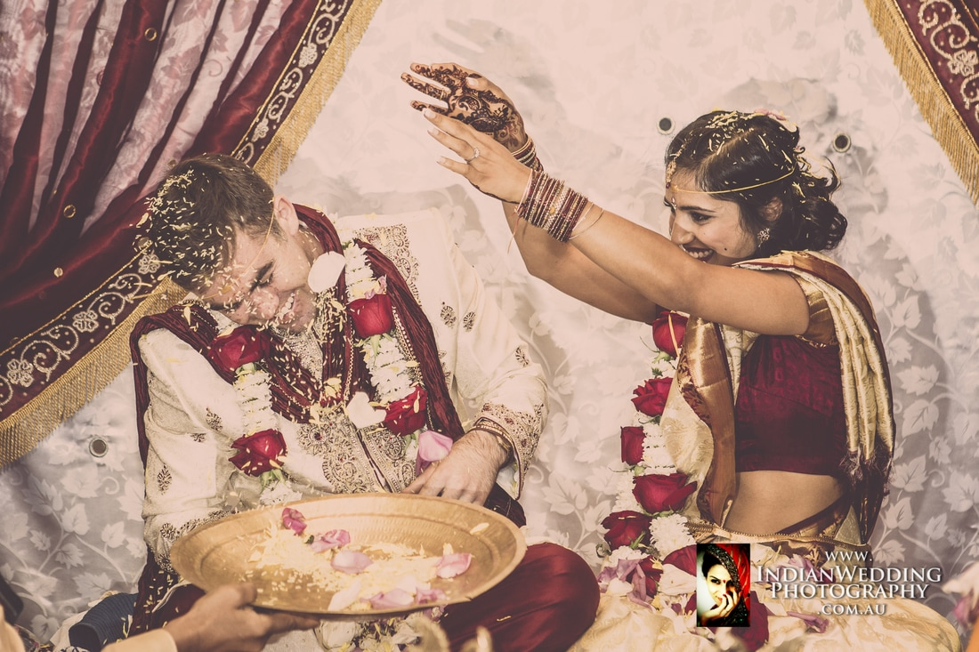 Sri and vishnu wedding